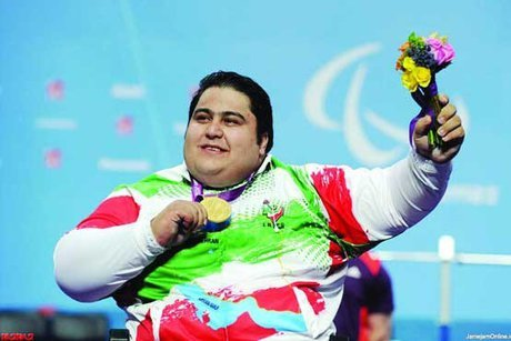 Iranian Paralympic champion shortlisted for Best Powerlifter of 2018