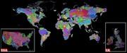 نقشه متفاوت و منحصربهفرد از رودخانههای جهان را ببینید