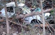 کودک ۷ ساله در برخورد خودرو با درخت در مرزنآباد جان باخت