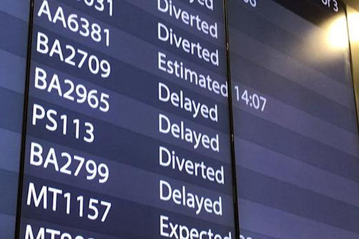 پرواز ۲ پهپاد ناشناس در آسمان فرودگاه گاتویک لندن/ فرودگاه تعطیل شد