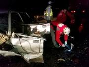 تصادف زنجیرهای در محور اسلامآبادغرب ۳ کشته به جا گذاشت