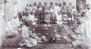 عکس | سفره شب یلدا در عهد قاجار