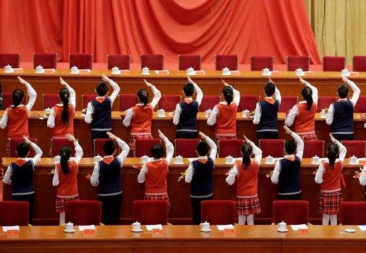 دانش آموزان برای اجرای برنامه در چهلمین سالگرد اصلاحات چین آماده می شوند