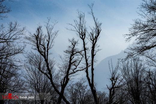 ییلاقات ماسال در آستانه زمستان