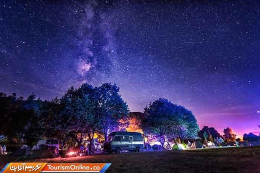 آسمان شب کشور کرواسی