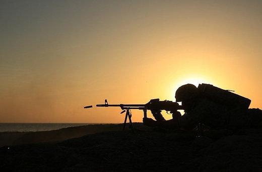 تمرین عملیات تصرف مناطق استراتژیک دشمن در رزمایش سپاه