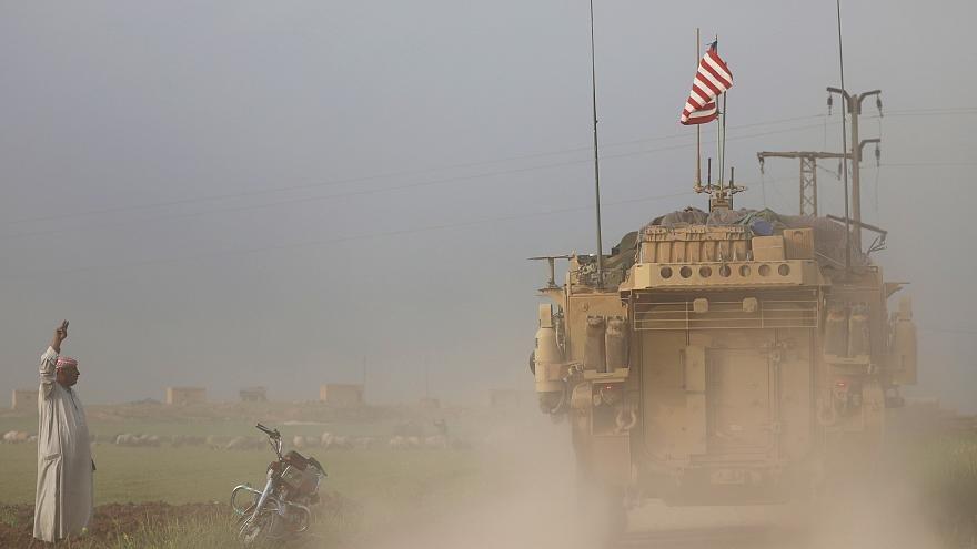 خروج نیروهای آمریکا از سوریه