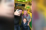 فیلم | پادشاه اردن و فرزندانش در یک ساندویچی!