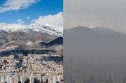 هوای تهران را باد و باران پاییزی پاک کرد، نه طرح ترافیک جدید!