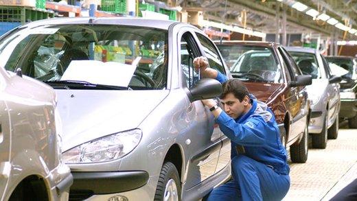 کاهش ۷۲ درصدی تولید خودرو در سال۹۷