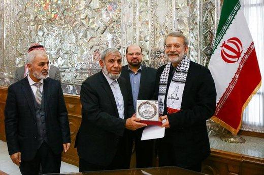 لاریجانی: جنایات رژیم صهیونیستی باید به گوش همه جهانیان برسد