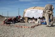 تصاویر | وضعیت نامناسب یکی از دهها مدرسه کپری ایران