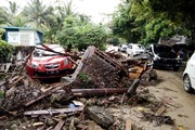 همهچیز درباره سونامی وحشتناک اندونزی/ آمار کشتهها: ۲۲۲ نفر