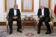 ظريف : دعم فلسطين سياسة مبدئية ايرانية