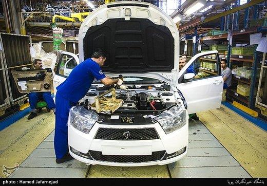 ایران خودرو روزی چند خودرو تولید میکند؟