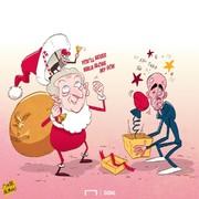 کادوی محکم بابانوئل به گواردیولا!