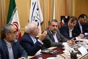 فلاحت بيشة : اعضاء لجنة الامن القومي النيابية عقدوا اجتماعا مع ظريف