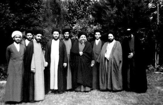 آیت الله هاشمی شاهرودی در حوزه علمیه نجف اشرف