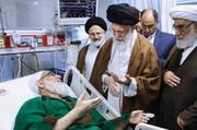 قائد الثورة الإسلامية يعزي بوفاة آية الله هاشمي شاهرودي
