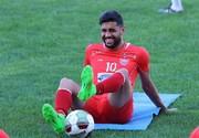 بازیکن پرسپولیس و لحظه شماری برای شروع لیگ برتر