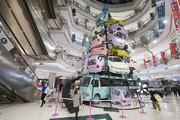 تصاویر   عجیبترین درخت کریسمس امسال را ببینید