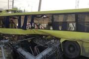 اظهارات ضدونقیض مسئولان درباره واژگونی اتوبوس حامل دانشجویان/ سکته راننده یا نقص فنی؟