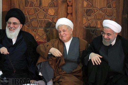 آیتالله سید محمود هاشمی شاهرودی، سال 1394 در مراسم سالگرد ارتحال امام خمینی (ره) حضور دارد