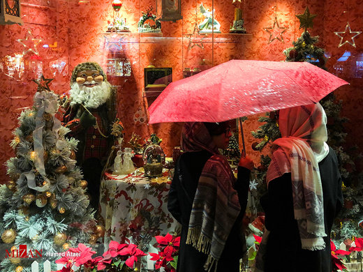 خرید کریسمس در تهران