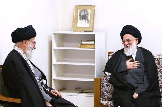 قائد الثورة سيصلي علي جثمان الفقيد آية الله هاشمي شاهرودي