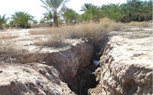 استان کرمان در دهان دشت های خالی از آب