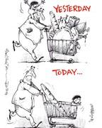 سبد خرید مردم از دیروز تا امروز!
