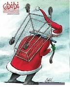 وضعیت عجیب بابانوئل در ایران!