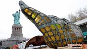 سرنوشت عجیب مشعل معروف مجسمه آزادی! +تصاویر