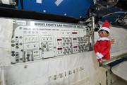 فیلم | جشن متفاوت کریسمس در ایستگاه فضایی