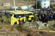 فیلم | ویدئوی دیدهنشده از حادثه واژگونی اتوبوس دانشگاه آزاد