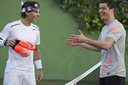 فیلم   تنیس بازی رونالدو با نادال