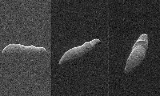 سیارکی شبیه اسب آبی از کنار زمین گذشت/ عکس
