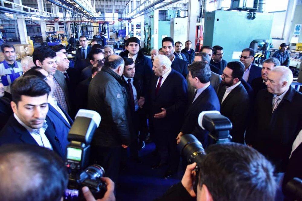 بازدید رئیس مجلس ملی جمهوری آذربایجان از کارخانه مارال صنعت