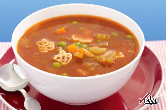 چرا سوپ خوردن باعث لاغری می شود؟