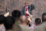 تصاویر | سفر سرزده ترامپ به عراق؛ از ادعا علیه ایران تا گاف آقای رئیس جمهور