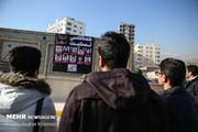 قالیباف در مراسم یادبود جانباختگان حادثه دانشگاه آزاد/ عکس