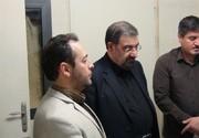 دبیر مجمع تشخیص مصلحت نظام از آیتالله مومن عیادت کرد