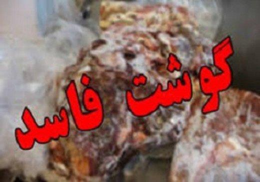 یک تن گوشت قرمز غیر قابل مصرف در آبیک معدوم شد