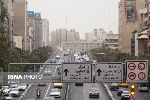 هوای تهران ناسالم برای گروههای حساس؛ شاخص آلودگی روی ۱۳۰ بود