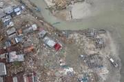 تصاویر | زاویهای دیگر از خسارات سونامی در اندونزی
