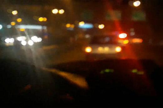 فیلم   تعقیب و گریز بنز آگاهی و پراید در بزرگراههای تهران