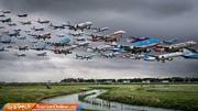 تصاویر خلاقانه یک عکاس از لحظه بلند شدن هواپیماها