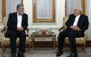 Zarif: Iran supporting Palestinian cause