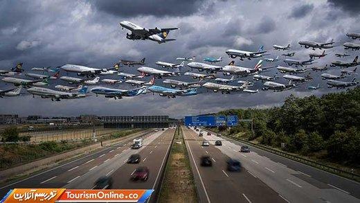 ایرپرتره از باند فرودگاهها