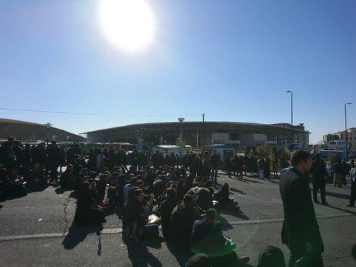 تجمع اعتراضآمیز دانشجویانعلوم و تحقیقات/ عکس